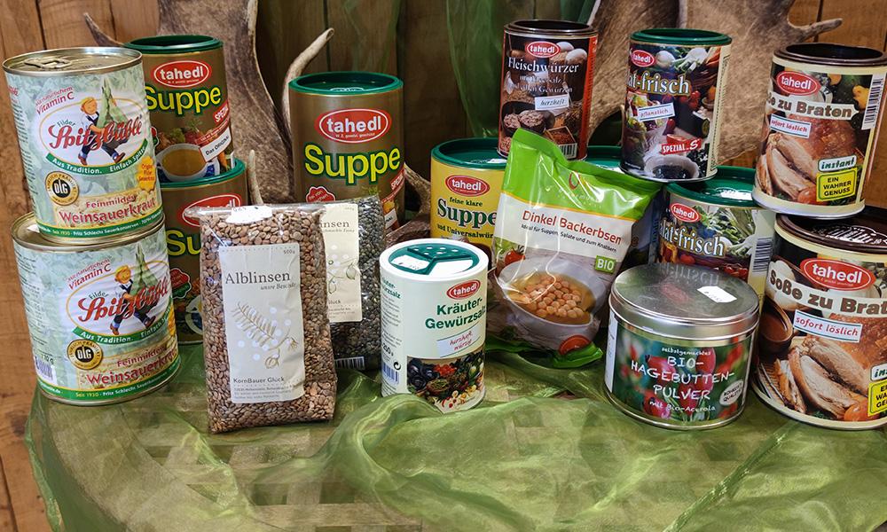 Suppen und Gewürze vom Buchenhofer Bauernladen
