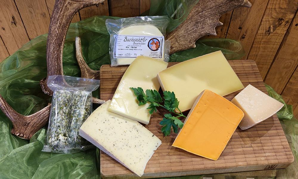 Käse, Buchenhofer Bauernladen